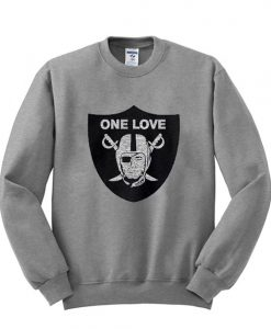 Oakland Raiders One Love Sweatshirt