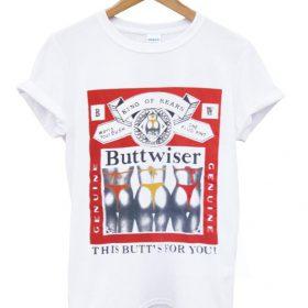 buttwiser t shirt