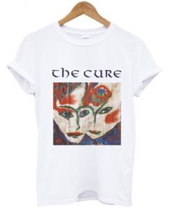 the cure art t shirt