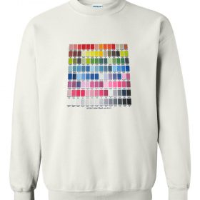 Color Chart Sweatshirt