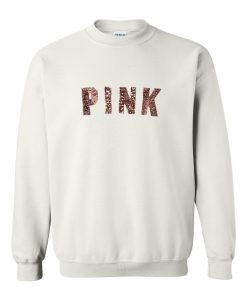 Pink rose gold sweatshirt