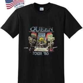 Queen tour 80 t-shirt