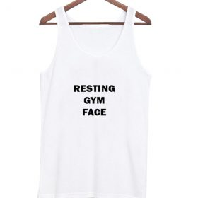 Resting Gym Face tanktop