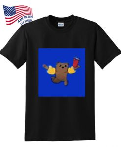 acrobatic bear t-shirt
