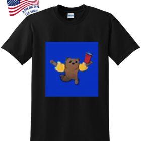 acrobatic bear t-shirt