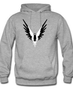 maverick logo logan hoodie