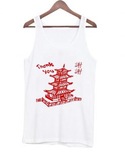 thank you chinese tanktop