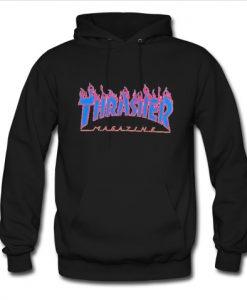 thrasher magazin blue hoodie
