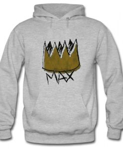 Where The Wild Things Are Max Crown Hoodie