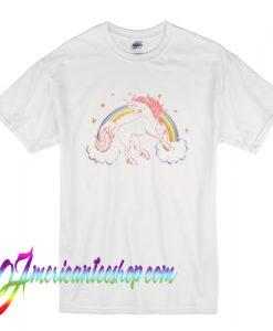 Unicorn Rainbow T Shirt