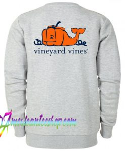 Vineyard Vines Pumpkin Sweatshirt Back