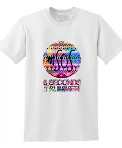 5 seconds of summer aztec chevron T Shirt