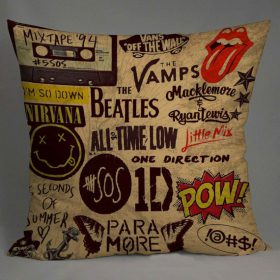 5 seconds of summer one direction Pillow Case