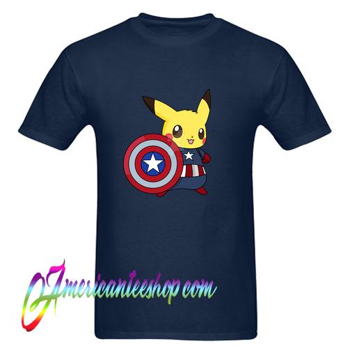 9f1309acb Captain Pikachu T shirt