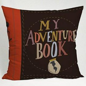 My Adventure Book Carl and Ellie Pillow Case