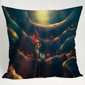 Princess Little Mermaid Fan Art Pillow Case
