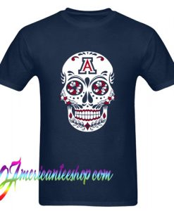Sugar Skull University of Arizona T Shirt