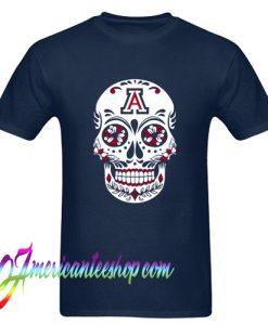 Sugar Skull University of Arizona T Shirt