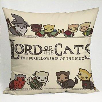 The Lord of the Cats Pillow Case