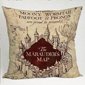 The Marauders Map Harry Potter Pillow Cases