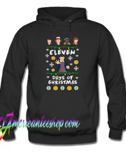 Ugly Christmas Gifts For Stranger Things Fans Xmas Hoodie