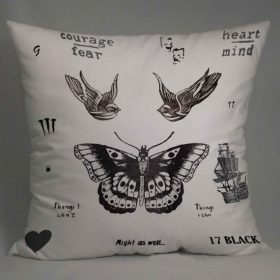 harry style tattoo Pillow Case