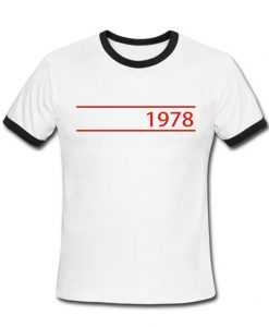 1978 Vintage 70's Ringer shirt