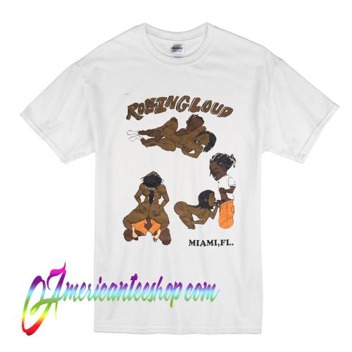 Asap Rocky Rolling Loud T Shirt