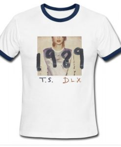 Taylor Swift Deluxe Edition 1989 Ringer shirt