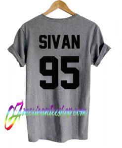 Troye Sivan 95 T shirt Back