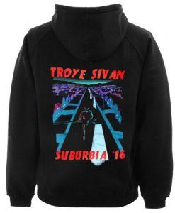 Troye Sivan Suburbia '16 Hoodie Back