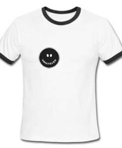 Whatever Smile Ringer Shirt