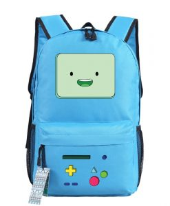 Anime Adventure Time BMO Emoji Printing School Bags