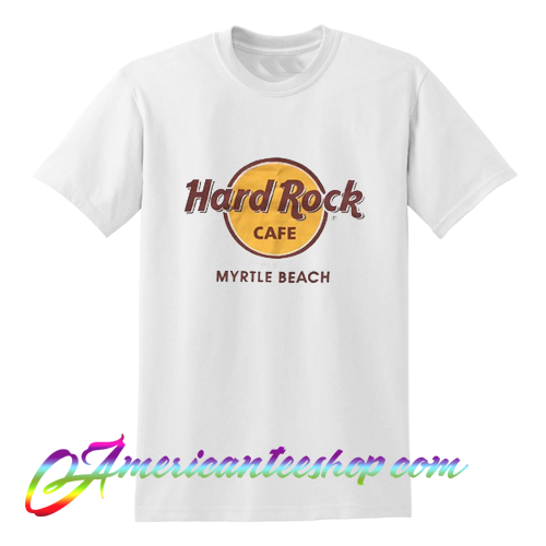 hard rock cafe myrtle beach t shirt. Black Bedroom Furniture Sets. Home Design Ideas