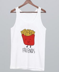 Best Friends Fries Tank Top