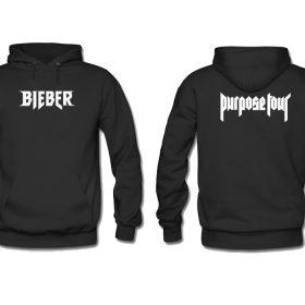 Bieber Purpose Tour Hoodie Twoside