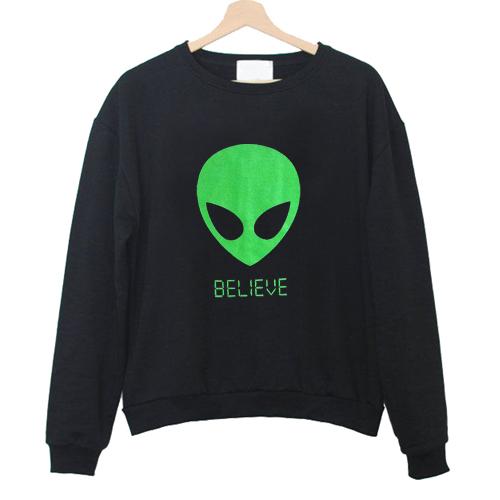 Alien BELIEVE Sweatshirt