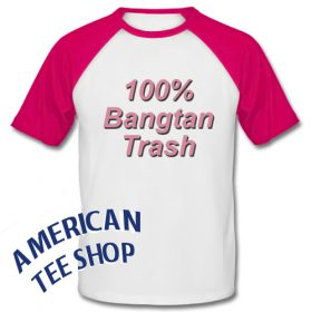 100 % Bangtan Trash Baseball Shirt