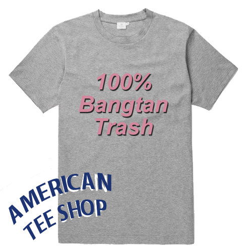 100 % Bangtan Trash T Shirt