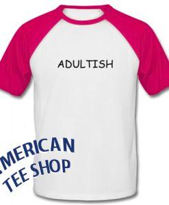 Adultish Graphic Baseball Shirt