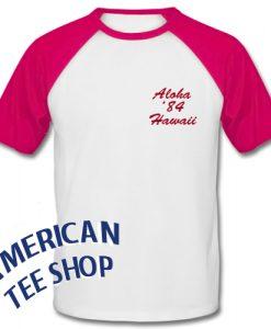 Aloha 84 Hawaii Baseball Shirt