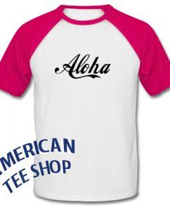 Aloha Graphic Baseball Shirt