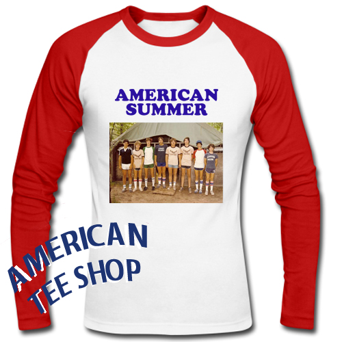 American Summer Camp Flying Eagle Raglan Longsleeve