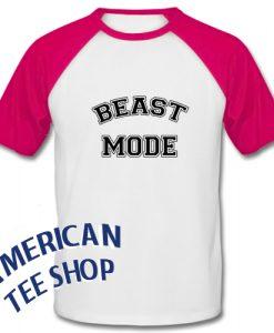 Beast Mode Baseball Shirt