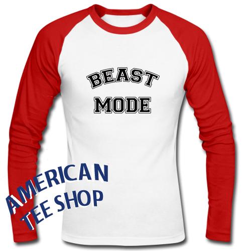Beast Mode Raglan Longsleeve