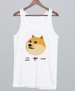 Doge Japanese Tank Top