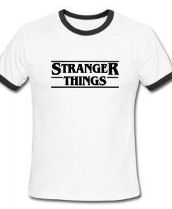Stranger Things Ringer Shirt
