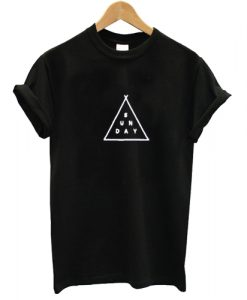 Triangle Sunday T shirt