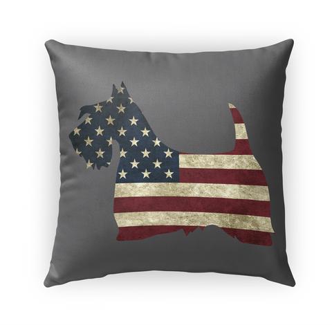 Proud American Scottie Pillow Case