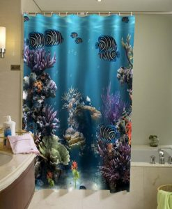 Aquarium Ocean Shower Curtain